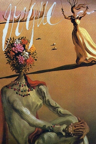 Dali's 'The Persistence f Memory' used for cover of Vogue 1939